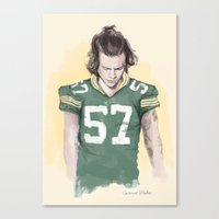 packers Canvas Prints featuring Harry is Packers AF by Coconut Wishes