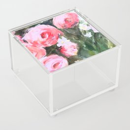 Flowers in the Grass Acrylic Box