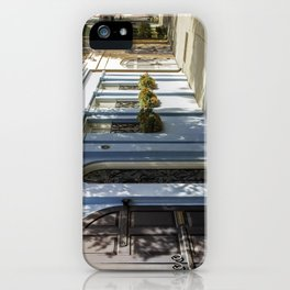 Charleston SC No. 4  Rainbow Row iPhone Case