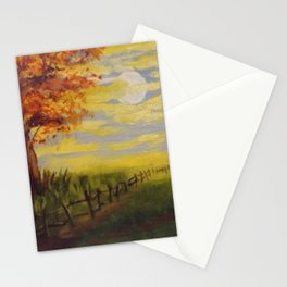 Summer's Sunset Stationery Cards