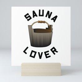 Sauna Lover Mini Art Print