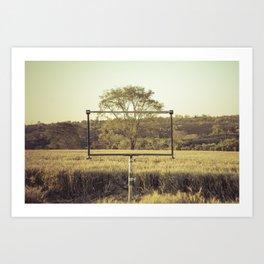 Framed Tree Art Print