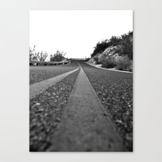 Winding Up Canvas Print