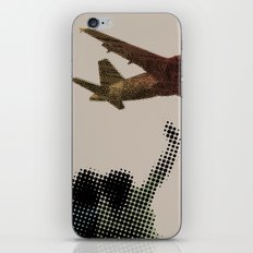 Dad's on that paper flight again iPhone & iPod Skin