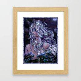 The Winter Spirit Framed Art Print