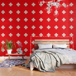 First Aid Plaster Wallpaper