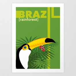 Brazil [rainforest] Art Print