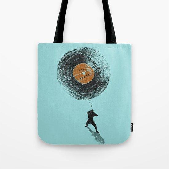 Record Breaker Tote Bag