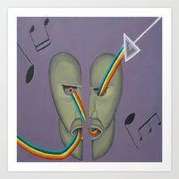 floyd Art Prints featuring Pink Floyd by ArtSchool