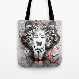 Love song for a butterfly Tote Bag