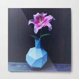 Flower offering forgiveness Metal Print