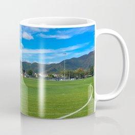 Green Grass Sports Field Coffee Mug