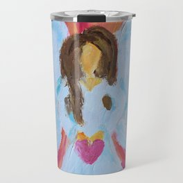 Angel Heart Travel Mug
