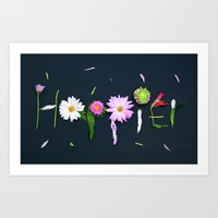 happier Art Print