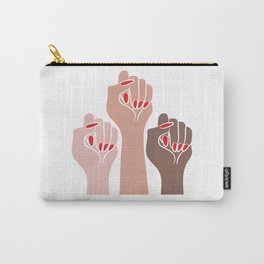 Womens For All Woman Every Kind And Race Fempowerment Power Women Carry-All Pouch