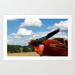 Bellanca Airplane Art Print