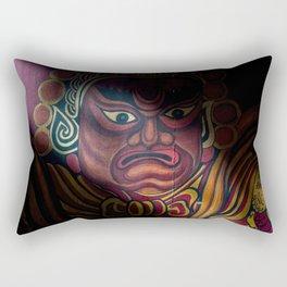 Temple Guardian  Rectangular Pillow