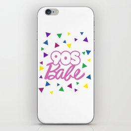 90s Babe iPhone Skin