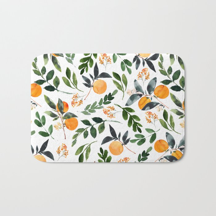 Orange Grove Badematte