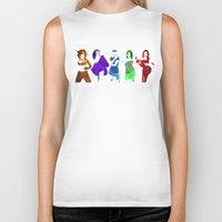 spice girls Biker Tanks featuring The Spice Girls by Greg21