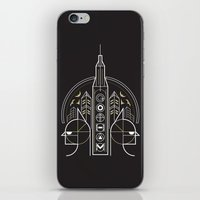 gotham iPhone & iPod Skins featuring Gotham by Aliel Arts