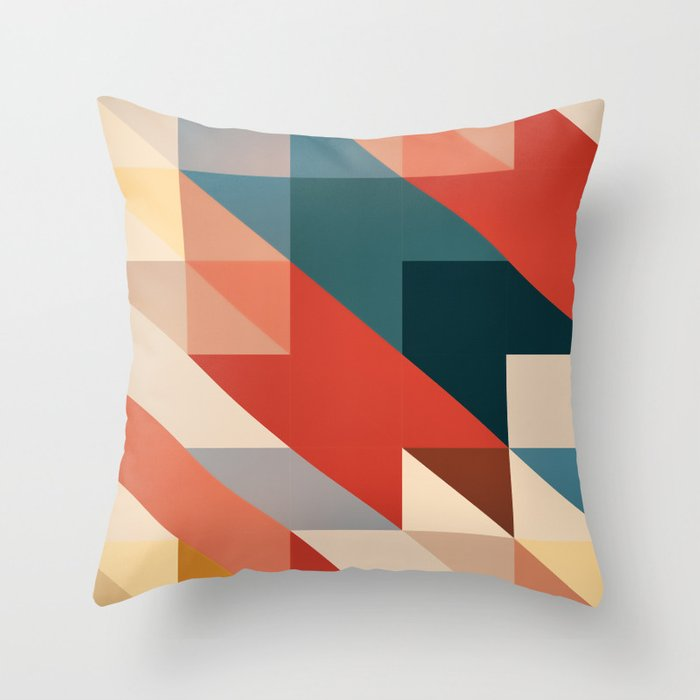 ABSTRACT 9D Throw Pillow