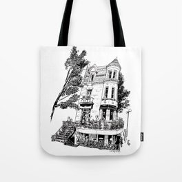 Fantasy of Saint Denis and Roy Tote Bag