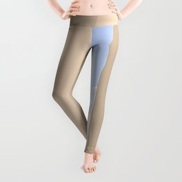 WHITE - CONCRETE - BUILDING - AND - BODY - OF - WATER - PHOTOGRAPHY Leggings