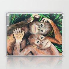 Baby Orangutans Laptop & iPad Skin