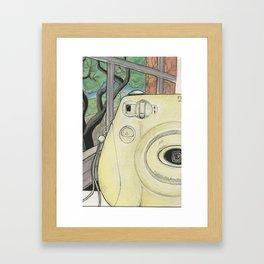 instax 7s Framed Art Print