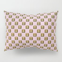 Rose quartz Elegance metal pattern Pillow Sham