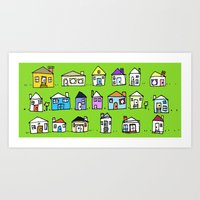 Lil Neighborhood Art Print