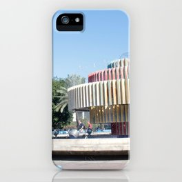 Tel Aviv photo - Dizengoff Square iPhone Case
