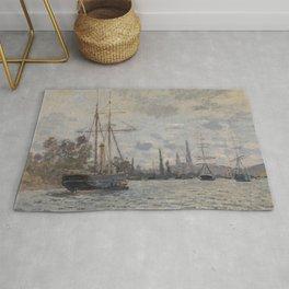 Claude Monet - La Seine à Rouen.jpg Rug