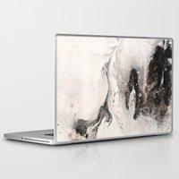 karma Laptop & iPad Skins featuring Karma by Meredith C Bullock