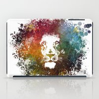 the lion king iPad Cases featuring Lion King by jbjart
