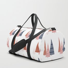 Blush and Copper Trees Duffle Bag