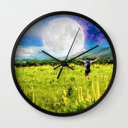 Free Spirit Wall Clock