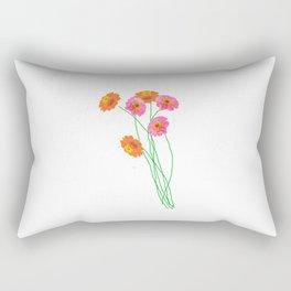 Garden flowers Rectangular Pillow