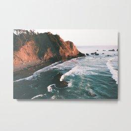 Oregon Coast V Metal Print