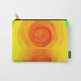 sunset abstract minimal digital painting Carry-All Pouch