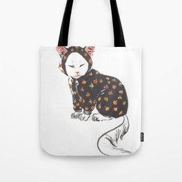 Hera the cat Tote Bag