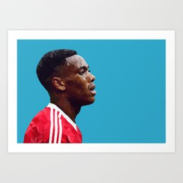 Anthony Martial - Manchester United Art Print