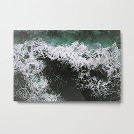 Waves #ocean Metal Print