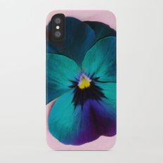 Viola tricolor iPhone X Slim Case