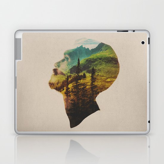 Out Of Mind Laptop & iPad Skin