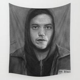 Elliot Alderson Wall Tapestry