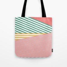 Tootsie Roll Lines Tote Bag