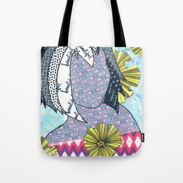 Never Be Anyone But Yourself (You Are Beauiful) Tote Bag