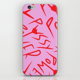 Pussy Power iPhone Skin